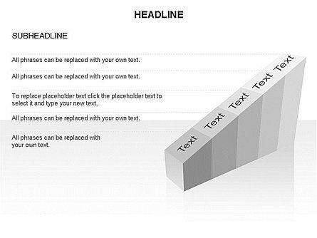 Ramp Chart Toolbox, Slide 34, 03404, Stage Diagrams — PoweredTemplate.com