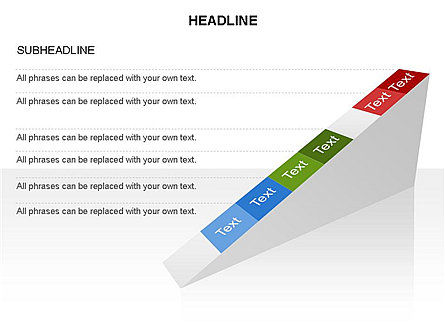 Ramp Chart Toolbox, Slide 39, 03404, Stage Diagrams — PoweredTemplate.com