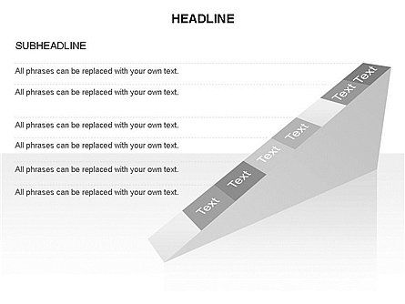 Ramp Chart Toolbox, Slide 40, 03404, Stage Diagrams — PoweredTemplate.com