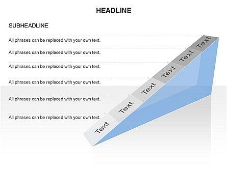 Ramp Chart Toolbox, Slide 43, 03404, Stage Diagrams — PoweredTemplate.com