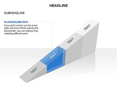 Ramp Chart Toolbox, Slide 47, 03404, Stage Diagrams — PoweredTemplate.com