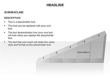 Ramp Chart Toolbox, Slide 6, 03404, Stage Diagrams — PoweredTemplate.com