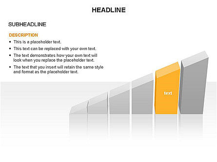 Ramp Chart Toolbox, Slide 8, 03404, Stage Diagrams — PoweredTemplate.com