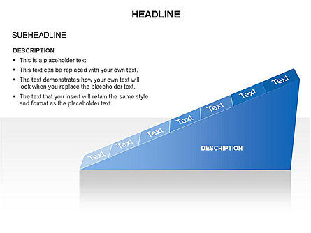 Ramp Chart Toolbox, Slide 9, 03404, Stage Diagrams — PoweredTemplate.com
