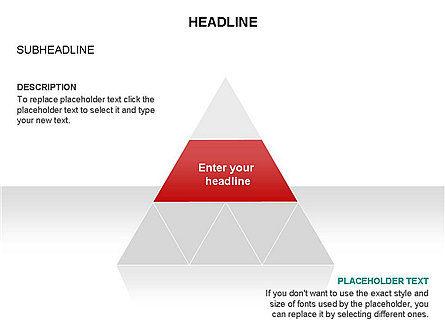 Pyramids and Triangles Toolbox, Slide 10, 03405, Shapes — PoweredTemplate.com