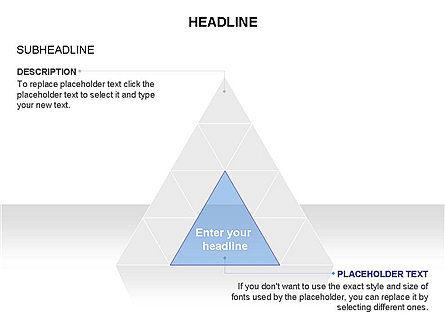 Pyramids and Triangles Toolbox, Slide 15, 03405, Shapes — PoweredTemplate.com