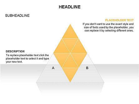 Pyramids and Triangles Toolbox, Slide 16, 03405, Shapes — PoweredTemplate.com