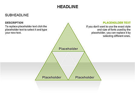 Pyramids and Triangles Toolbox, Slide 17, 03405, Shapes — PoweredTemplate.com