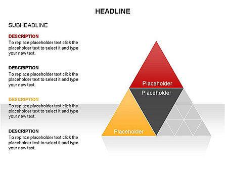 Pyramids and Triangles Toolbox, Slide 18, 03405, Shapes — PoweredTemplate.com