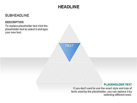 Pyramids and Triangles Toolbox, Slide 2, 03405, Shapes — PoweredTemplate.com
