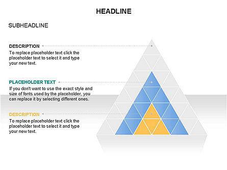 Pyramids and Triangles Toolbox, Slide 20, 03405, Shapes — PoweredTemplate.com