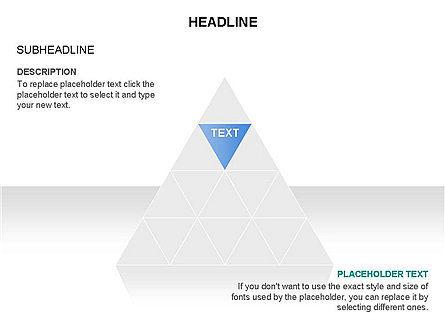 Pyramids and Triangles Toolbox, Slide 3, 03405, Shapes — PoweredTemplate.com