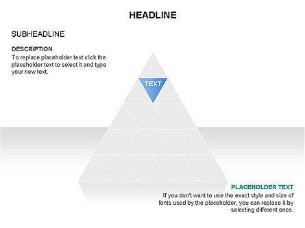 Pyramids and Triangles Toolbox, Slide 4, 03405, Shapes — PoweredTemplate.com