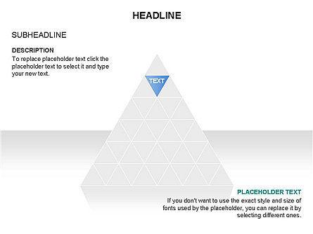 Pyramids and Triangles Toolbox, Slide 5, 03405, Shapes — PoweredTemplate.com