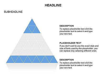 Pyramids and Triangles Toolbox, Slide 7, 03405, Shapes — PoweredTemplate.com