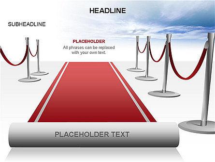Red Carpet Toolbox, Slide 12, 03406, Shapes — PoweredTemplate.com