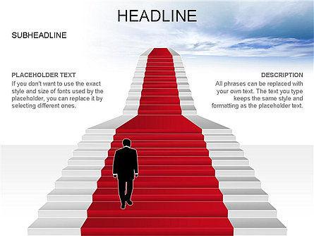 Red Carpet Toolbox, Slide 17, 03406, Shapes — PoweredTemplate.com