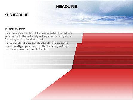 Red Carpet Toolbox, Slide 2, 03406, Shapes — PoweredTemplate.com