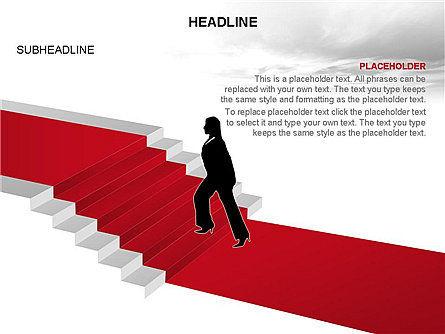 Red Carpet Toolbox, Slide 4, 03406, Shapes — PoweredTemplate.com