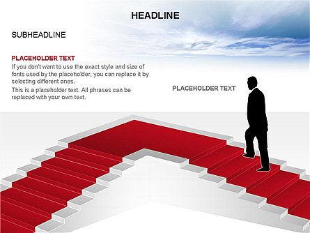 Red Carpet Toolbox, Slide 7, 03406, Shapes — PoweredTemplate.com