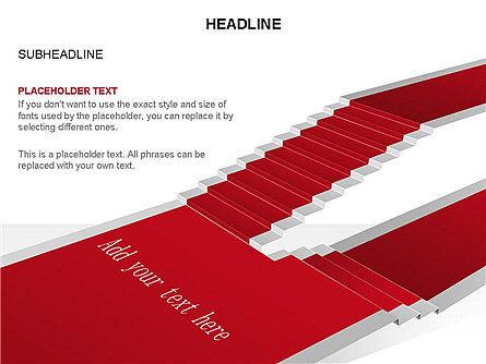 Red Carpet Toolbox, Slide 8, 03406, Shapes — PoweredTemplate.com