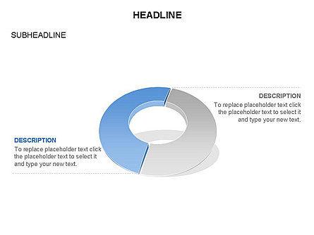 Donut Chart Toolbox, Slide 12, 03407, Pie Charts — PoweredTemplate.com