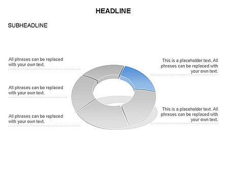 Donut Chart Toolbox, Slide 15, 03407, Pie Charts — PoweredTemplate.com