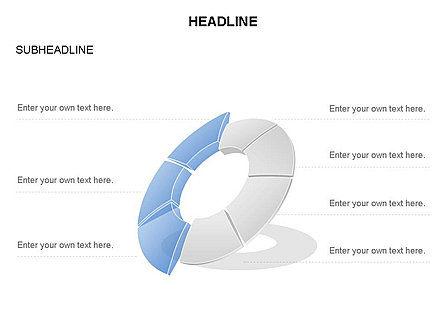 Donut Chart Toolbox, Slide 26, 03407, Pie Charts — PoweredTemplate.com