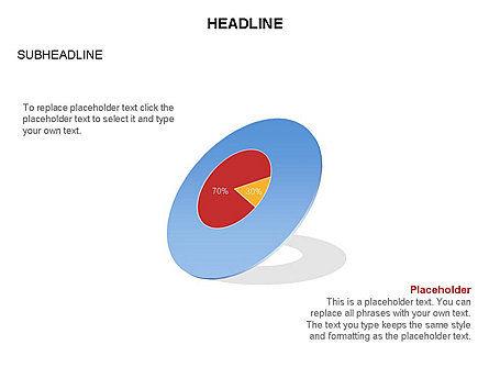 Donut Chart Toolbox, Slide 28, 03407, Pie Charts — PoweredTemplate.com