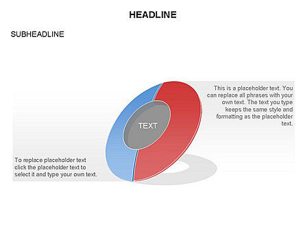 Donut Chart Toolbox, Slide 31, 03407, Pie Charts — PoweredTemplate.com