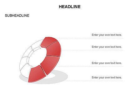 Donut Chart Toolbox, Slide 36, 03407, Pie Charts — PoweredTemplate.com