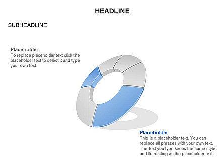 Donut Chart Toolbox, Slide 37, 03407, Pie Charts — PoweredTemplate.com
