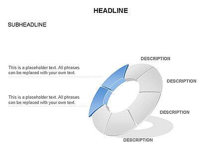 Donut Chart Toolbox, Slide 41, 03407, Pie Charts — PoweredTemplate.com