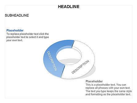 Donut Chart Toolbox, Slide 42, 03407, Pie Charts — PoweredTemplate.com