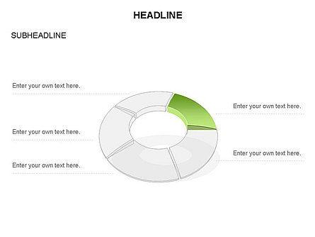Donut Chart Toolbox, Slide 43, 03407, Pie Charts — PoweredTemplate.com
