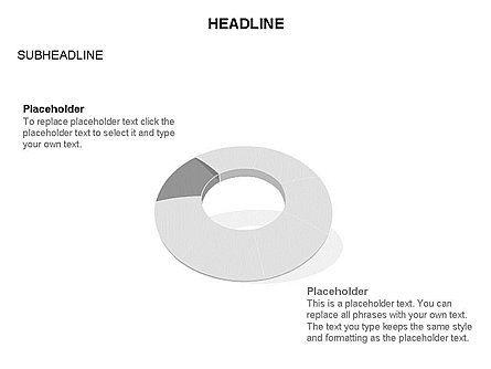 Donut Chart Toolbox, Slide 45, 03407, Pie Charts — PoweredTemplate.com