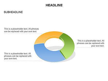 Donut Chart Toolbox, Slide 48, 03407, Pie Charts — PoweredTemplate.com