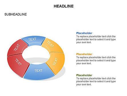 Donut Chart Toolbox, Slide 51, 03407, Pie Charts — PoweredTemplate.com