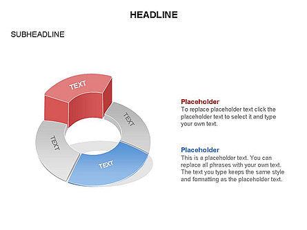Donut Chart Toolbox, Slide 56, 03407, Pie Charts — PoweredTemplate.com