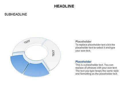 Donut Chart Toolbox, Slide 60, 03407, Pie Charts — PoweredTemplate.com
