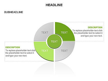 Donut Chart With Core Toolbox, Slide 29, 03410, Pie Charts — PoweredTemplate.com