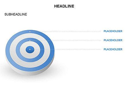 Spherical Aim Diagram, Slide 11, 03414, Shapes — PoweredTemplate.com