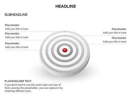 Spherical Aim Diagram, Slide 16, 03414, Shapes — PoweredTemplate.com