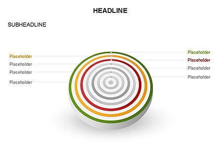Spherical Aim Diagram, Slide 19, 03414, Shapes — PoweredTemplate.com
