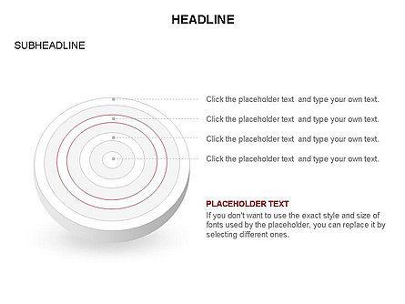 Spherical Aim Diagram, Slide 21, 03414, Shapes — PoweredTemplate.com