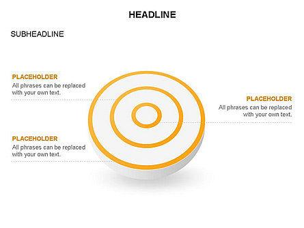 Spherical Aim Diagram, Slide 24, 03414, Shapes — PoweredTemplate.com