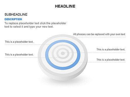 Spherical Aim Diagram, Slide 26, 03414, Shapes — PoweredTemplate.com