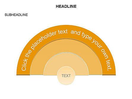 Semicircle Diagram, Slide 10, 03415, Stage Diagrams — PoweredTemplate.com