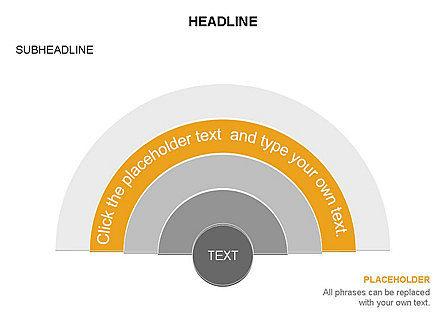 Semicircle Diagram, Slide 11, 03415, Stage Diagrams — PoweredTemplate.com