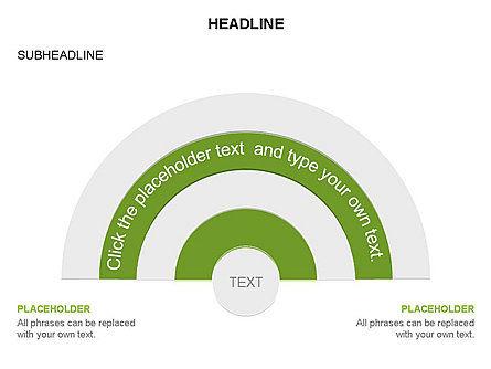 Semicircle Diagram, Slide 12, 03415, Stage Diagrams — PoweredTemplate.com